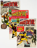 Silver Age (1956-1969):Superhero, Daredevil #3, 5, and 6 Group (Marvel, 1964-65) Condition: Average VG+.... (Total: 3 Comic Books)