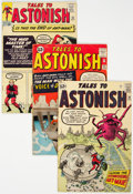 Silver Age (1956-1969):Superhero, Tales to Astonish Group of 4 (Marvel, 1963) Condition: Average GD.... (Total: 4 Comic Books)