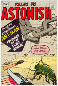 Tales to Astonish #41 (Marvel, 1963) Condition: VG/FN
