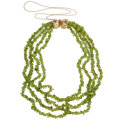 Estate Jewelry:Necklaces, Peridot, Emerald, Gold Necklace. ...