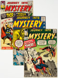 Silver Age (1956-1969):Superhero, Journey Into Mystery Group of 4 (Marvel, 1960-64) Condition: Average GD/VG.... (Total: 4 Comic Books)