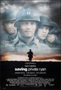 """Movie Posters:War, Saving Private Ryan (Paramount, 1998). Rolled, Very Fine. One Sheet (27"""" X 40"""") SS. War.. ..."""