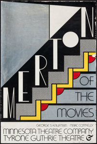 """Merton of the Movies by Roy Lichtenstein (Minnesota Theatre Company, 1968). Rolled, Fine+. Mylar Theater Poster (20""""..."""