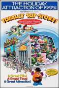 "Movie Posters:Animation, Totally Toy Story (Buena Vista, 1995). Rolled, Very Fine-. Special One Sheet (27"" X 40"") DS, Advance. Animation.. ..."