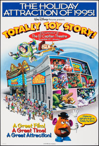 """Totally Toy Story (Buena Vista, 1995). Rolled, Very Fine-. Special One Sheet (27"""" X 40"""") DS, Advance. Animatio..."""