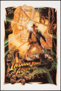 "Movie Posters:Adventure, Indiana Jones Adventure: Temple of the Forbidden Eye (Disneyland, 1995). Rolled, Very Fine. Poster (22"" X 33"") Drew Struzan ..."