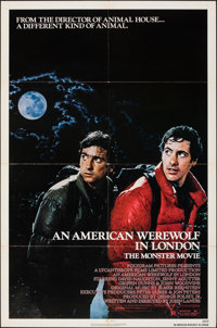 "An American Werewolf in London (Universal/Roadshow, 1981/1982). Folded, Very Fine. One Sheet (27"" X 41"") &..."