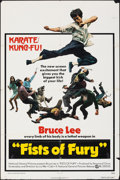 "Movie Posters:Action, The Big Boss (National General, 1972). Folded, Fine+. One Sheet (27"" X 41""). U.S. Title: Fists of Fury. Action.. ..."