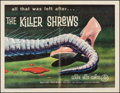 "Movie Posters:Science Fiction, The Killer Shrews (McLendon Radio Pictures, 1959). Half Sheet (22"" X 28""). Science Fiction.. ..."