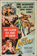 """Movie Posters:Adventure, The Looters & Other Lot (Universal International, 1955). Folded, Overall: Fine+. One Sheets (3) (27"""" X 41""""). Adventure.. ... (Total: 3 Items)"""