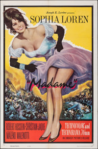 """Madame (Embassy, 1963). Folded, Very Fine+. One Sheet (27"""" X 41""""). Foreign"""