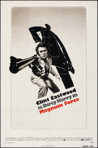 """Magnum Force (Warner Brothers, 1973). Folded, Very Fine-. One Sheet (27"""" X 41""""). Action"""