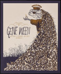 Movie Posters:Rock and Roll, Gene Ween at The Independent (2009). Rolled, Very Fine/Near Mint. Signed and Numbered Limited Edition Screen Print Po...