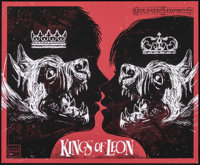 Kings of Leon and The Walkmen at the Wachovia Spectrum (Live Nation, 2009). Rolled, Very Fine+. Signed and Numbered Limi...