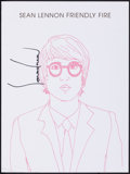 """Movie Posters:Musical, Sean Lennon (Capitol, 2006). Rolled, Very Fine+. Autographed Album Poster (15"""" X 20""""). Musical.. ..."""