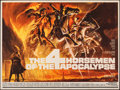 """Movie Posters:Drama, The Four Horsemen of the Apocalypse & Other Lot (MGM, 1961). Folded, Very Fine-. British Quads (2) (30"""" X 40"""" & 27.5""""..."""
