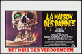 "Movie Posters:Horror, The Legend of Hell House (20th Century Fox, 1973). Rolled, Very Fine+. Horizontal Belgian (21.5"" X 14.25""). Horror.. ..."