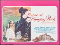 """Picnic at Hanging Rock (GTO Films, 1976). Rolled, Very Fine. British Quad (30"""" X 40"""") Brian Bysouth Artwork. M..."""