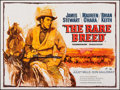 "Movie Posters:Western, The Rare Breed (Universal International, 1966). Folded, Very Fine. British Quad (30"" X 40""). Western.. ..."