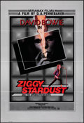 "Movie Posters:Rock and Roll, Ziggy Stardust and the Spiders from Mars (Thorn EMI, 1983). Folded, Very Fine. British One Sheet (27"" X 40""). Rock and Roll...."