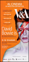 "Movie Posters:Documentary, David Bowie Is (Victoria and Albert Museum, 2013). Rolled, Very Fine+. Italian Locandina (12.5"" X 26.75"") Brian Duffy Photog..."
