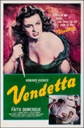 "Movie Posters:Crime, Vendetta & Other Lot (Universal, R-1979). Folded, Very Fine. One Sheets (2) (27"" X 41""). Crime.. ... (Total: 2 Item..."