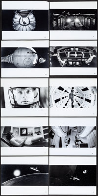 "2001: A Space Odyssey (MGM, 1968). Fine/Very Fine. Photos (17) (8"" X 10""). Science Fiction. ... (Total: 17 Ite..."