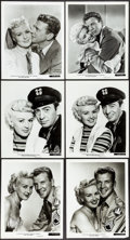 """Movie Posters:Musical, Betty Grable in My Blue Heaven & Other Lot (20th Century Fox, 1950). Very Fine-. Photos (10) (8"""" X 10""""). Musical.. ..."""