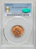 1944-D/S 1C FS-511 MS65+ Red PCGS. CAC....(PCGS# 37834)
