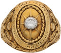 Baseball Collectibles:Others, 1927 New York Yankees World Series Championship Ring Presented to Mike Gazella....