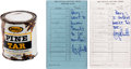 Baseball Collectibles:Others, 1983 Pine Tar Game Ephemera Lot with Multiple Signed Pieces....
