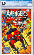 Bronze Age (1970-1979):Superhero, The Avengers #89 (Marvel, 1971) CGC VF 8.0 Off-white to white pages....