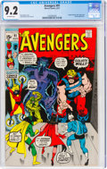 Bronze Age (1970-1979):Superhero, The Avengers #91 (Marvel, 1971) CGC NM- 9.2 Off-white pages....