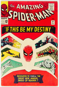 The Amazing Spider-Man #31 (Marvel, 1965) Condition: VG+