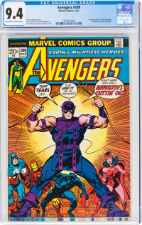 The Avengers #109 (Marvel, 1973) CGC NM 9.4 Off-white to white pages