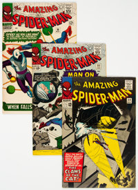 The Amazing Spider-Man Group of 6 (Marvel, 1965-68) Condition: Average VF.... (Total: 6 Comic Books)