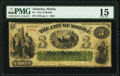 Obsoletes By State:Alabama, Mobile, AL- City of Mobile $3 May, 1865 PMG Choice Fine 15.. ...
