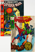 Modern Age (1980-Present):Superhero, The Amazing Spider-Man #96 and 97 Group (Marvel, 1971).... (Total: 2 Comic Books)