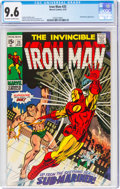 Bronze Age (1970-1979):Superhero, Iron Man #25 (Marvel, 1970) CGC NM+ 9.6 Off-white to white pages....
