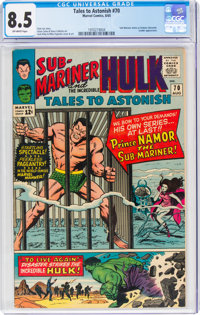 Tales to Astonish #70 (Marvel, 1965) CGC VF+ 8.5 Off-white pages