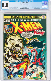 X-Men #94 (Marvel, 1975) CGC VF 8.0 Off-white to white pages