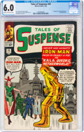 Silver Age (1956-1969):Superhero, Tales of Suspense #43 (Marvel, 1963) CGC FN 6.0 Cream to off-white pages....