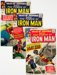 Tales of Suspense Group of 5 (Marvel, 1963-64) Condition: Average FN-.... (Total: 5 Comic Books)