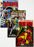 Silver Age (1956-1969):Superhero, Iron Man #2, 7, and 8 Group (Marvel, 1968) Condition: Average FN/VF.... (Total: 3 Comic Books)