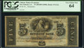 Obsoletes By State:Louisiana, New Orleans, LA- Citizens' Bank of Louisiana $5 18__ G12c Remainder PCGS Very Choice New 64.. ...