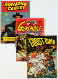 Golden Age Western Short Box Group (Various Publishers, 1950s) Condition: Average GD/VG