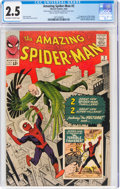 Silver Age (1956-1969):Superhero, The Amazing Spider-Man #2 (Marvel, 1963) CGC GD+ 2.5 Off-white to white pages....