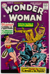 Wonder Woman #160 (DC, 1966) Condition: FN