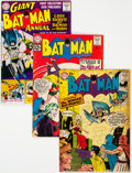 Golden Age (1938-1955):Superhero, Batman Group (DC, 1958-61).... (Total: 4 Comic Books)