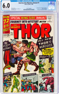 Silver Age (1956-1969):Superhero, Journey Into Mystery Annual #1 (Marvel, 1965) CGC FN 6.0 Off-white to white pages....